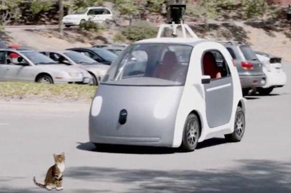 Googleの自動運転車にもしも