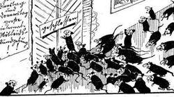 難民をネズミに例えたデイリーメールの漫画は、ナチスの時代にそっくり【画像】
