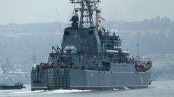 ロシア軍と見られる武装部隊、ウクライナのミサイル基地を制圧