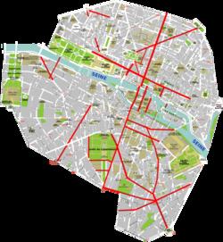 都市のつながり方