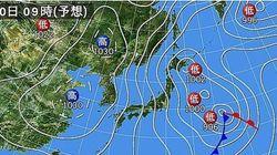 9日夜から列島上空に今季最強クラスの寒気