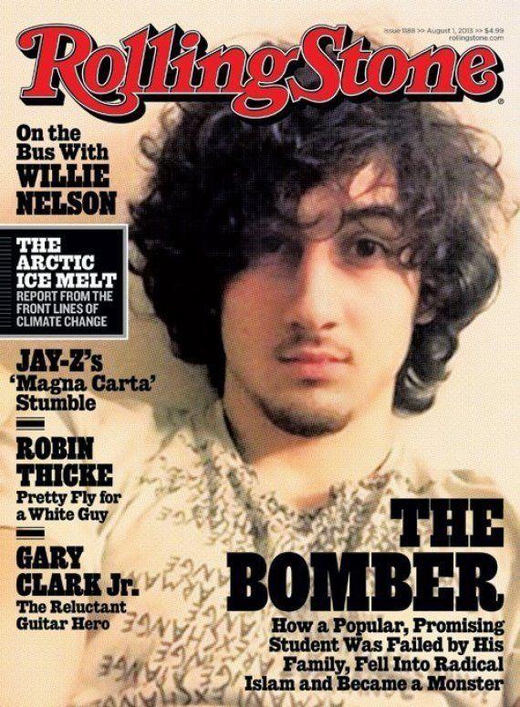 ローリングストーン誌、ボストン爆破事件のツァルナエフ容疑者を表紙に