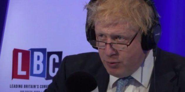EU離脱派の前ロンドン市長、ラジオ番組で「経済が崩壊したら謝罪する」