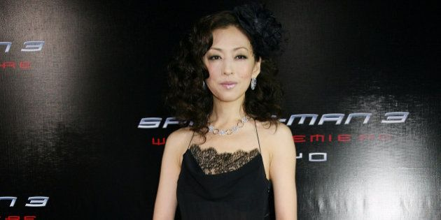 TOKYO - APRIL 16: Actress Yasuko Matsuyuki attends the World Premiere of 'Spider-Man 3' at the Roppongi...