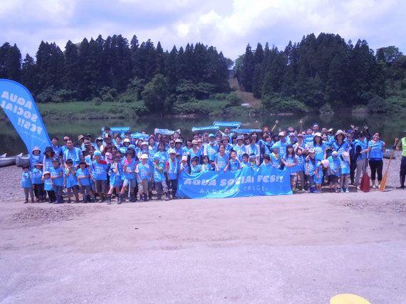 川のクリーンアップだけでなく被災地支援も カヌー仲間で立ち上げたNPO「秋田パドラーズ」