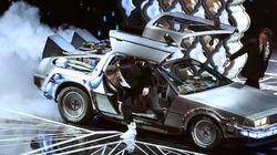 デロリアンがアカデミー賞にやってきた。もちろん、マイケル・J・フォックスも(動画)