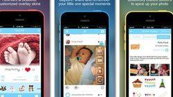 赤ちゃんのための写真共有アプリ