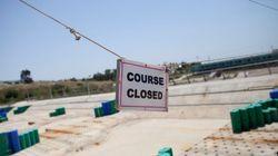 廃墟となったオリンピック会場のギャラリー