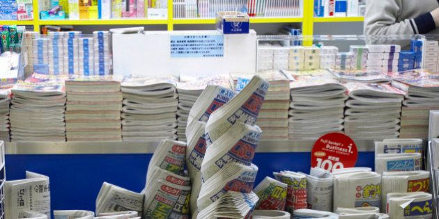 Newspaper Vendor,