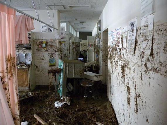 震災後、本吉病院で当直して