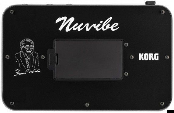 KORG Nuvibe発表、ジミ・ヘンドリックスが使った伝説のエフェクター「シンエイ
