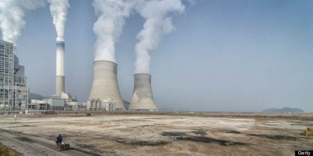 [UNVERIFIED CONTENT] The nuclear power plant near Ninghai,