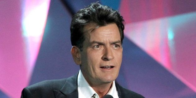 FILE - This June 3, 2012 file photo shows actor Charlie Sheen at the MTV Movie Awards in Los Angeles....