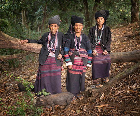 ミャンマーの秘境に暮らす山岳民族たちの肖像