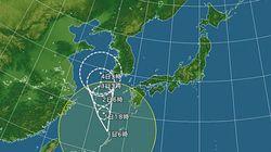 台風12号の動きが遅い 影響長引く