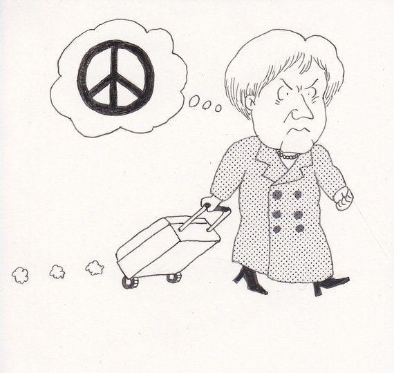 ウクライナ危機とメルケル