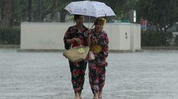 台風12号の影響長引く 九州四国は大雨警戒
