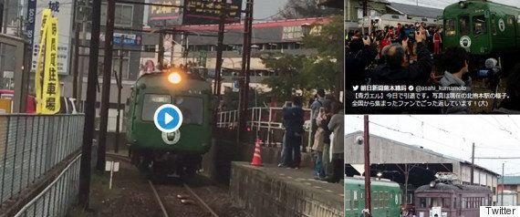 国鉄特急カラー485系「ひばり」「あいづ」の思い出乗せラストラン【画像・動画】