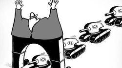 【風刺画】アラブの漫画家が見たガザ 画像集