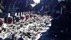アシアナ機客室写真で事故の惨状が明らかに(写真)