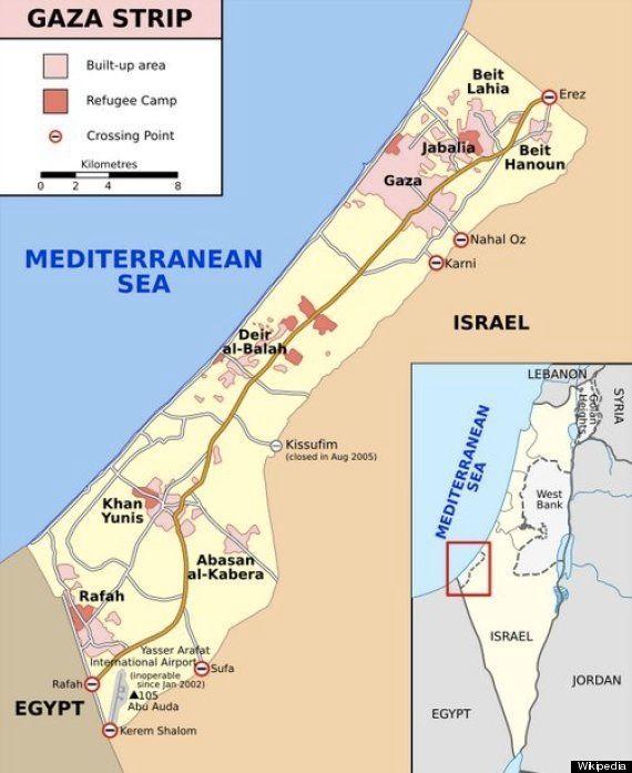 どうしてガザ地区の住民はどこにも逃げ出せないのか