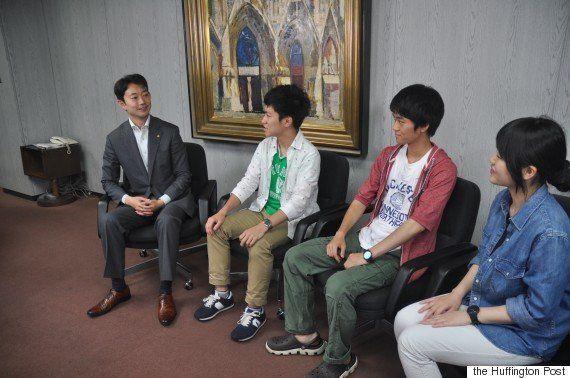 「被選挙権も早く下げないと」 熊谷俊人・千葉市長に若者が聞いてみた