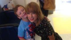 テイラー・スウィフト、がん闘病中の6歳少年と一緒に歌い、踊る(動画)