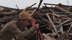 (360度動画)被災地は「2カ月経ってもこんな状況」北川義樹さん【熊本地震・益城町】