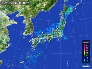台風11号 特に四国と九州で大雨警戒