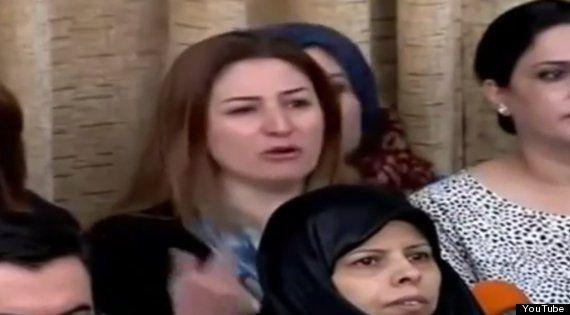 イラクの女性国会議員が議会で必死の訴え「ISISが市民を虐殺している」