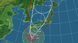 台風11号、西日本に上陸の恐れ 東海や関東も大雨に警戒