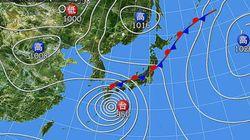 台風11号 台風の速度が遅く、豪雨や猛烈な風が長く続く恐れ