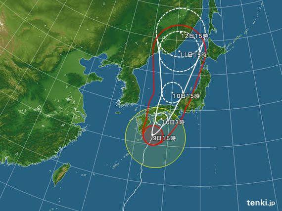 【台風情報】台風11号 関東影響は今夜からあす(財目かおり)