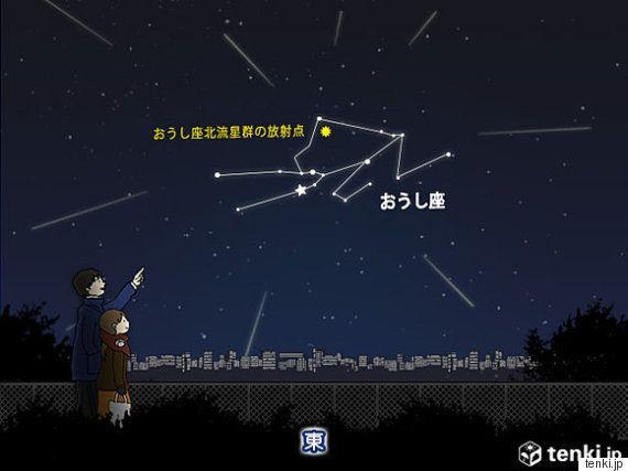 今夜がチャンス おうし座流星群