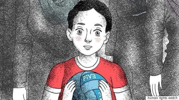 イランで開催のバレーボール国際大会 観戦できるのは男性だけ