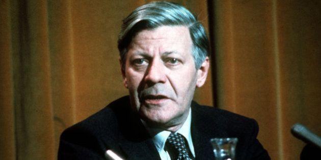 File - (AP) Helmut Schmidt - German Chancellor. (AP-Photo)