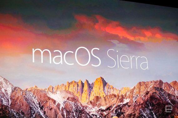 macOS Sierraを発表。OS