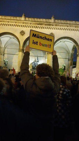 ミュンヘンはカラフル