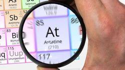 アスタチンという元素をご存知でしょうか?