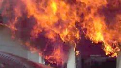 このヘルメットカメラの動画を見ると、命がけで火事と闘う消防士への尊敬が深まる