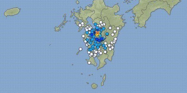 【地震情報】熊本・八代市で震度5弱