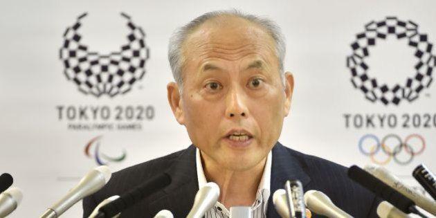 Tokyo's embattled governor Yoichi Masuzoe holds a regular press conference at the Tokyo Metropolitan...