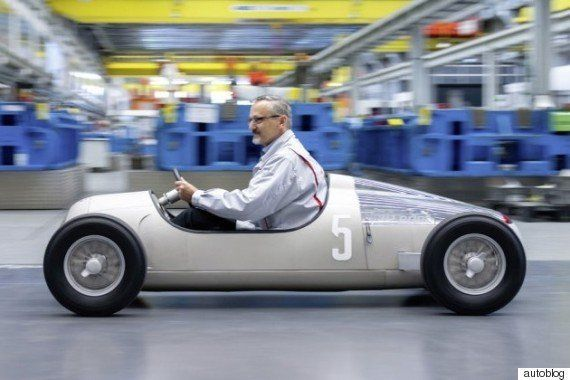 乗ってみたい!3Dプリンターで造られた、アウディのアウトウニオン小型レプリカ