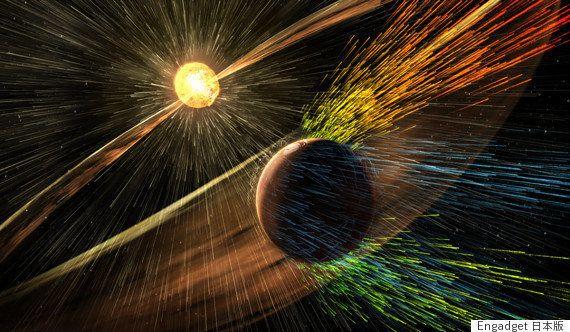 火星探査機MAVEN イオン流出を観測した