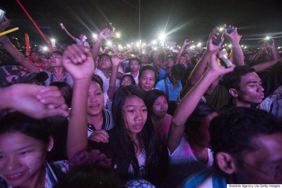 【ミャンマー総選挙】野党NLD優勢か