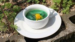 福島の野菜を使ったスープのパフォーマンス、海外で話題に