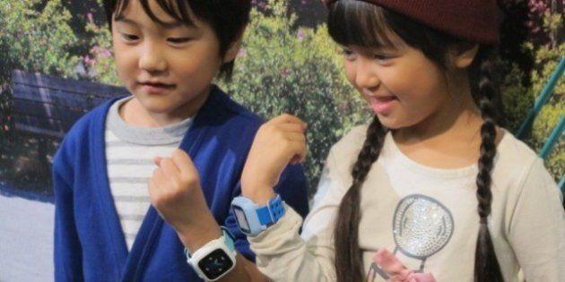 ドコモ、子供向け腕時計型端末