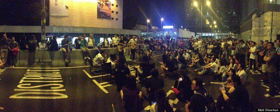 【傘の革命】香港デモで花開いたストリートカルチャーがかいま見える、9枚の写真