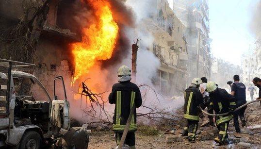シリア・アレッポで政府軍の空爆激化、小児科の病院も標的に 停戦合意ほとんど守られず(画像)