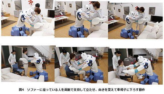 理研、クマ型介護ロボット「ROBEAR」を発表